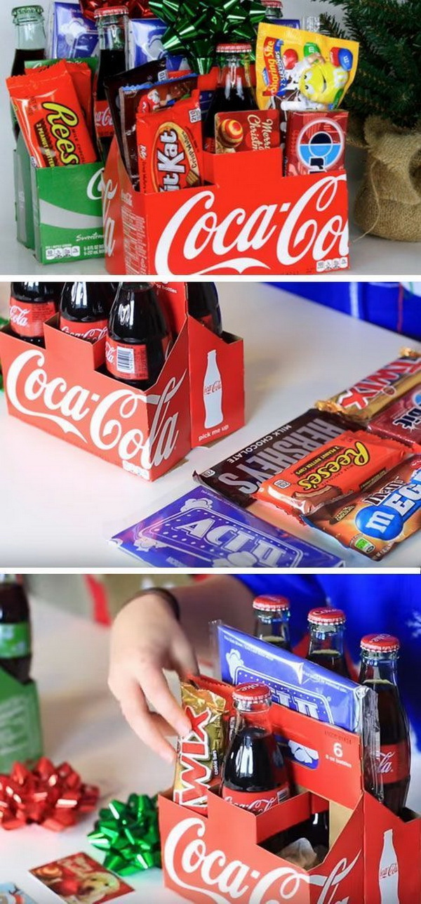Soda Gift Pack. A simple, creative, and inexpensive gift that is sure to please many different people on your list!
