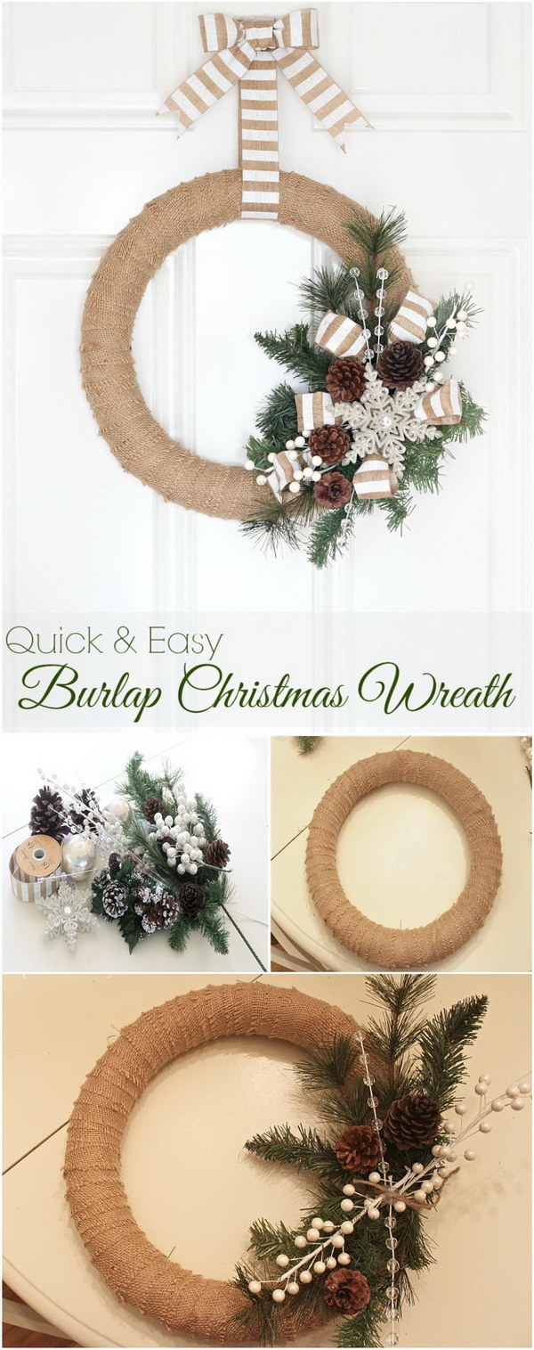 30+ Festive DIY Christmas Wreaths with Lots of Tutorials - For ...