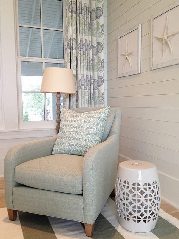 Coastal Bedroom Design and Decoration Ideas.