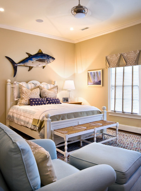 coastal bedroom design and decoration ideas - Coastal Design Ideas