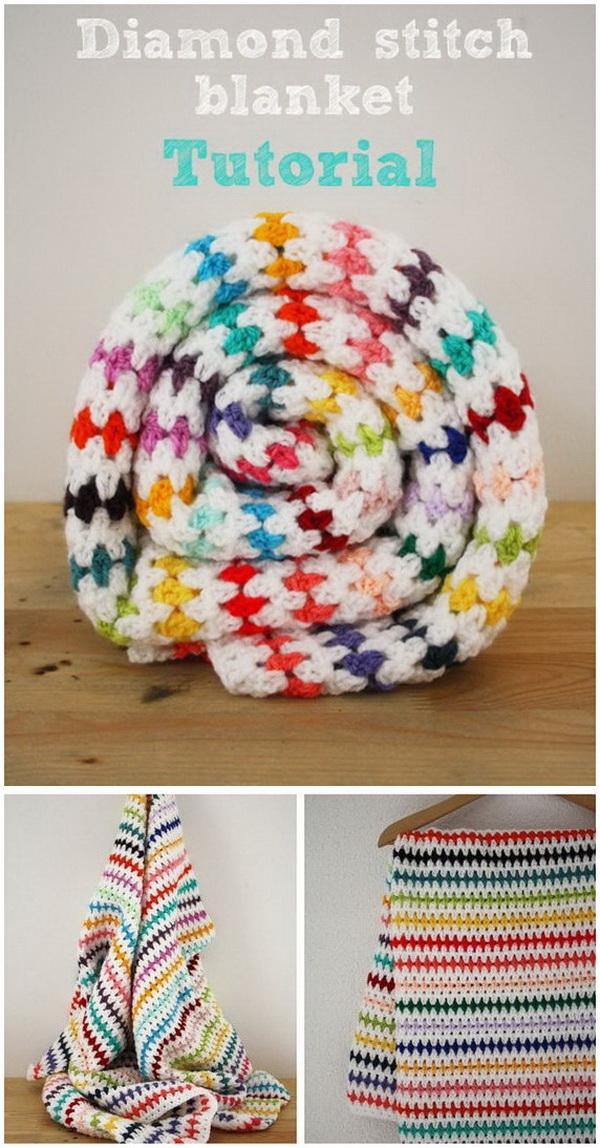 35+ Free Crochet Blanket Patterns & Tutorials - For Creative Juice