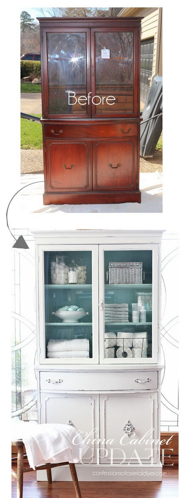 Upcycled Tv Unit Shabby Chic