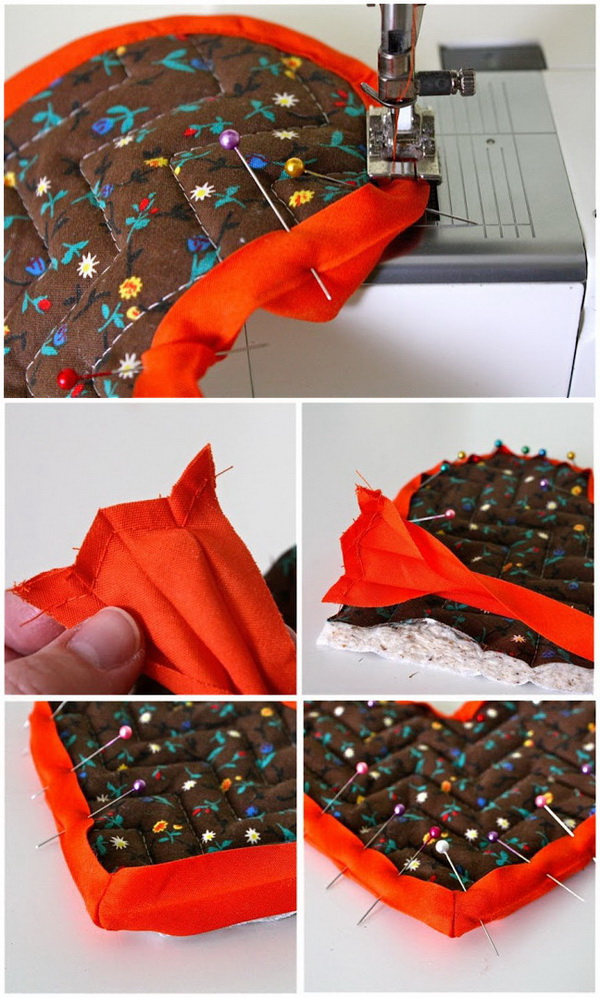 Genius Sewing Tips & Tricks: The Easy and Cheating Way to Sew on Bias Tape.