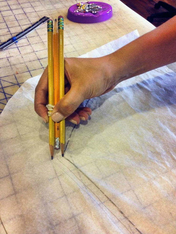 Genius Sewing Tips & Tricks: How to Quickly Mark Your Seam Allowance.