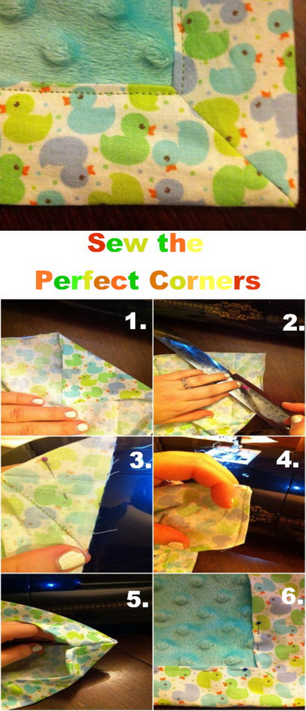 Genius Sewing Tips & Tricks: Sew the Perfect Corners.