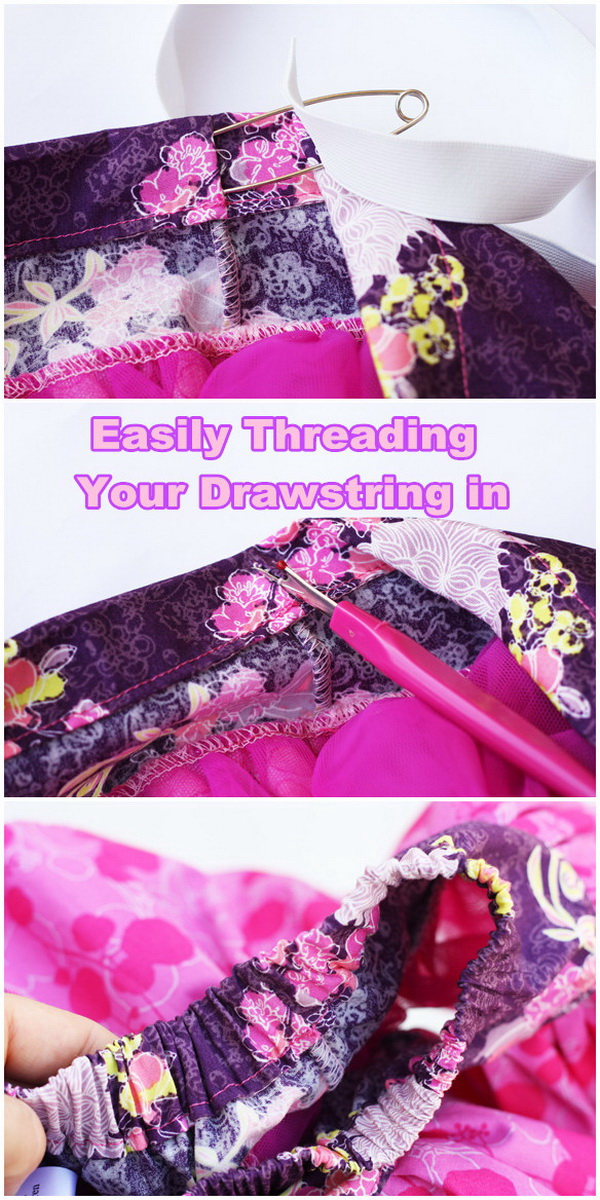 Genius Sewing Tips & Tricks: Easily Threading Your Drawstring in.