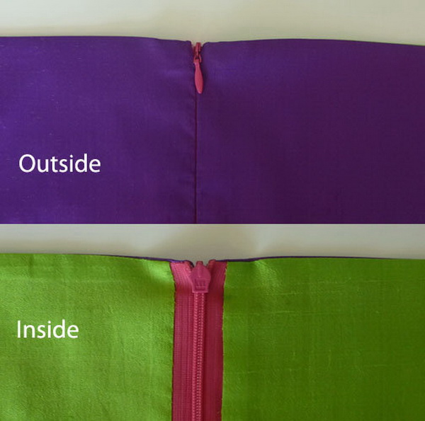Genius Sewing Tips & Tricks: Finish The Top of an Invisible Zipper.