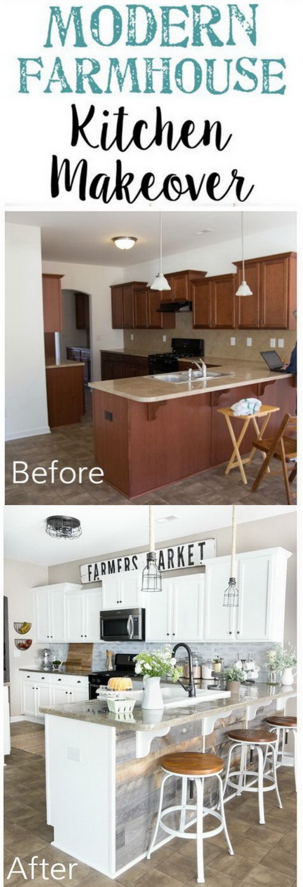 Diy Kitchen Makeover 35+ awesome diy kitchen makeover ideas - for creative juice