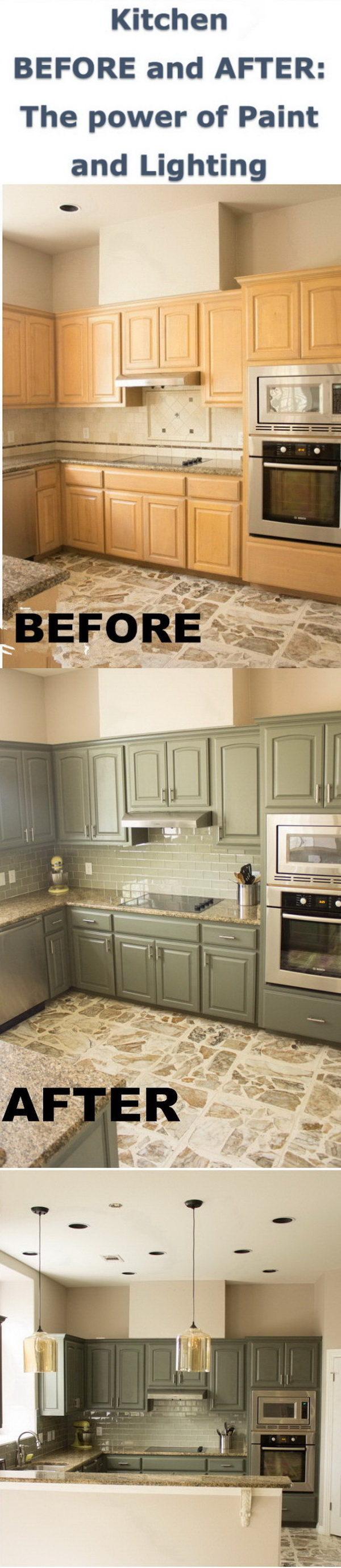 Kitchen Makeover: Before and After.