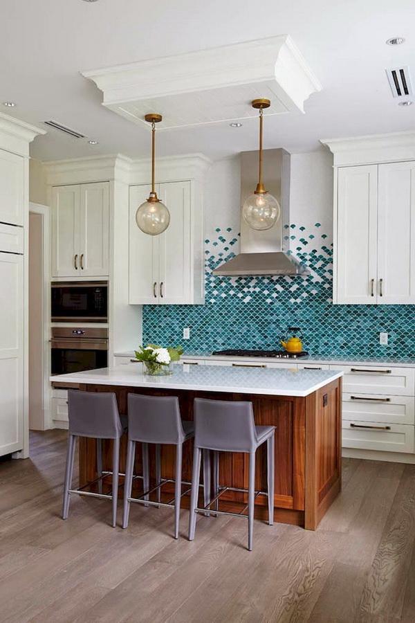 35 Fresh White Kitchen Cabinets Ideas To Brighten Your: 70+ Stunning Kitchen Backsplash Ideas