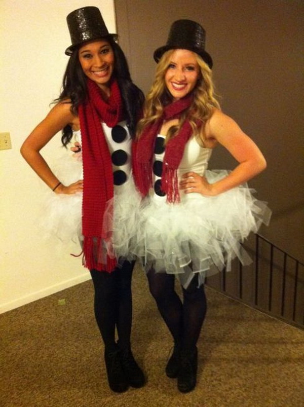 Snowman Best friend costumes!