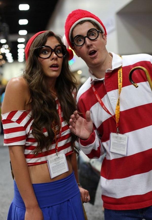 Wenda Y Waldo. Stylish Couple Costumes for Halloween.