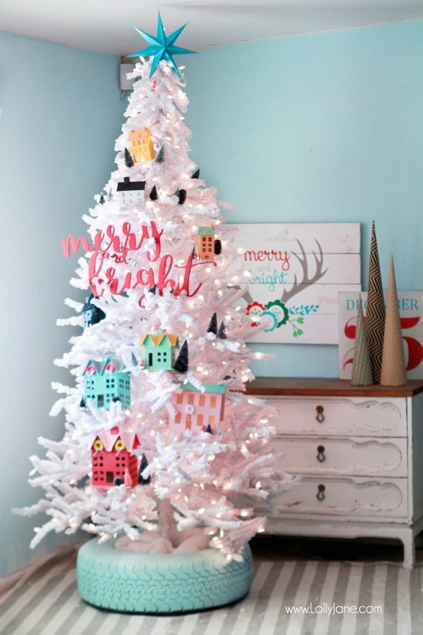 Recycled Christmas Ornaments Ideas.The Most Creative Christmas Tree Ideas For Your Holiday