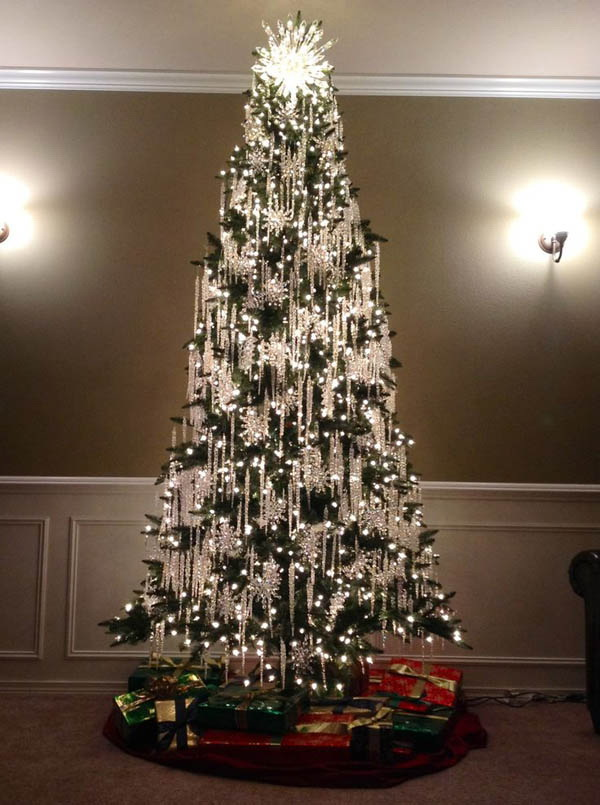Whether you need a traditional or modern look for your Christmas tree, this stuning project will be a good choice for you.