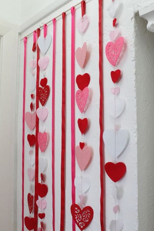Paper Hearts Backdrop.