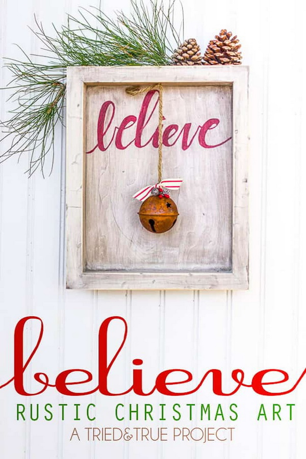 Christmas Art.18 Awesome Diy Christmas Decoration Ideas For Creative Juice