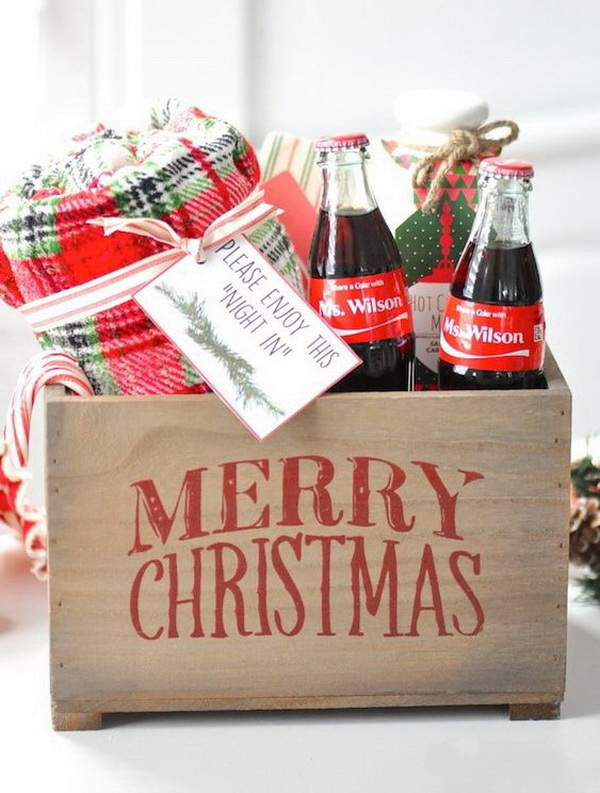 Christmas Neighbor Gift Ideas: Coke Bottles Gifts