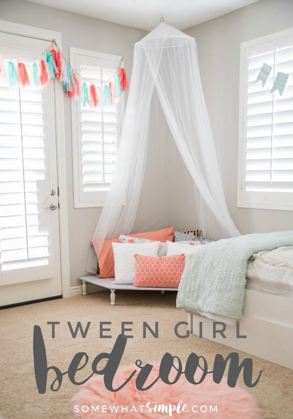 Awesome Tween Girls Bedroom Ideas - For Creative Juice on Tween Room Ideas Girl  id=89712