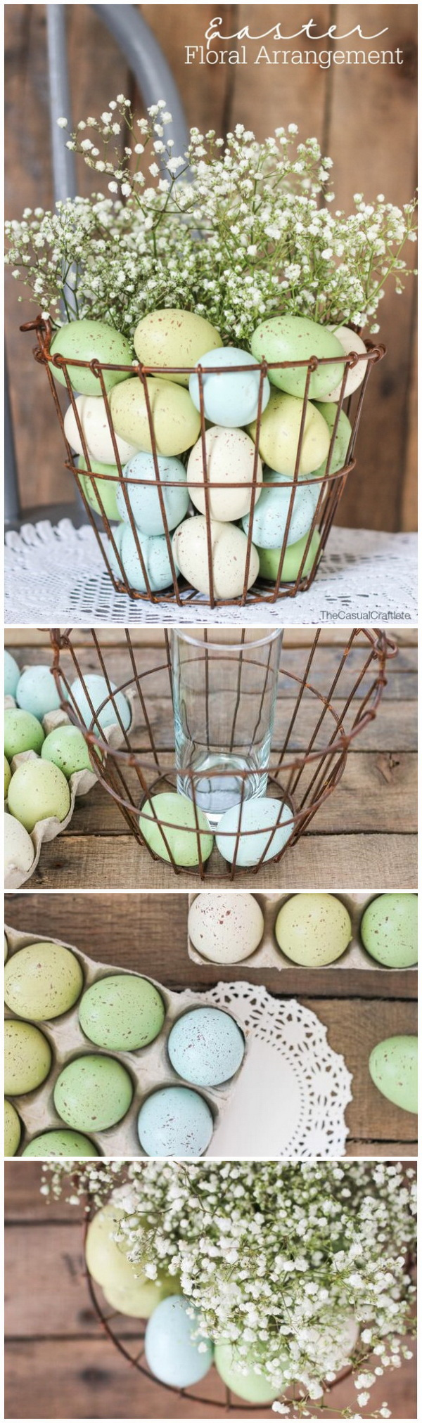 60+ Best DIY Easter Decoration Ideas - For Creative Juice