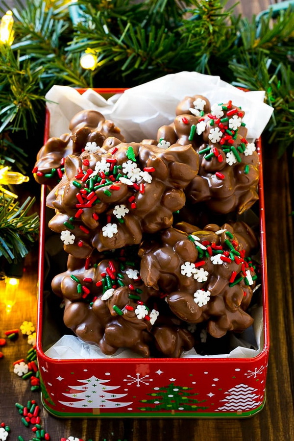 Quick and Easy Christmas Treat Ideas: Crock Pot Candy.