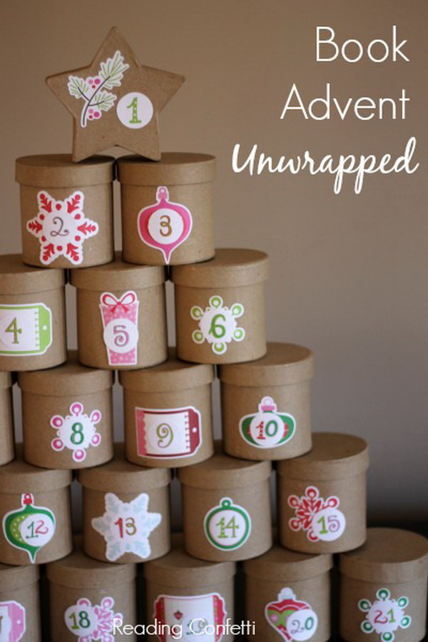 Unwrapped Book Advent Calendar.