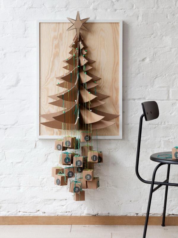 Christmas Tree Advent Calendar.