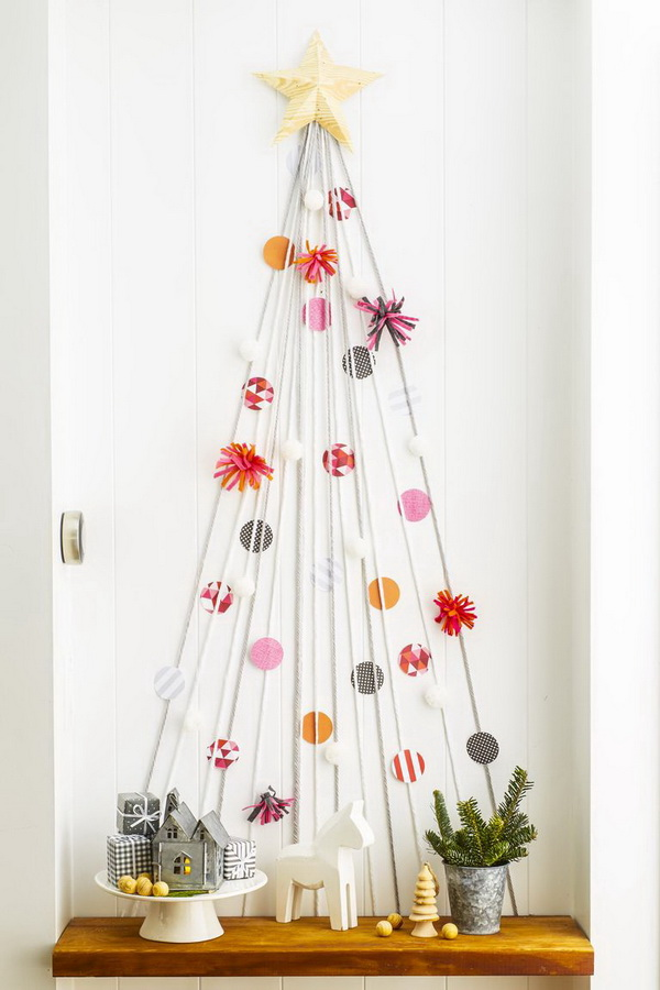 String Christmas Tree.