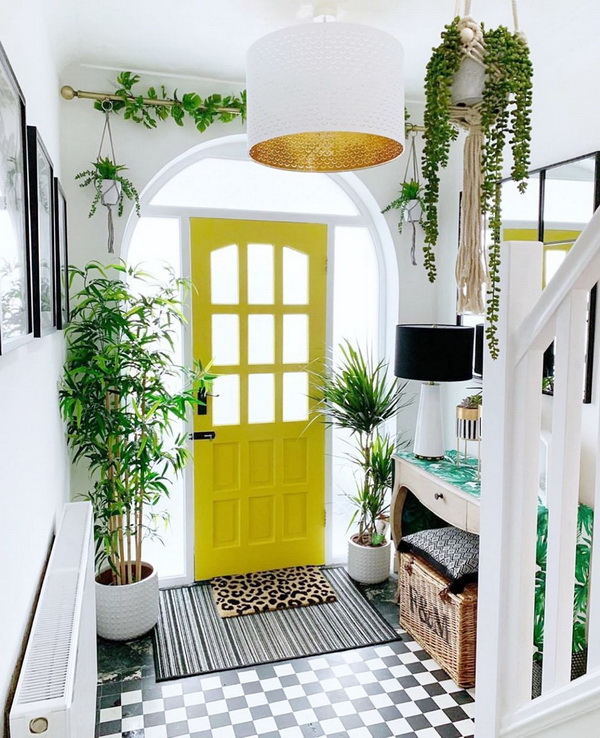 Decorating with Color: How to Brighten Your Space with Yellow.  Here we have several ideas for decorating with yellow for a little inspiration on how to add more warmth and sunshine to any existing room.