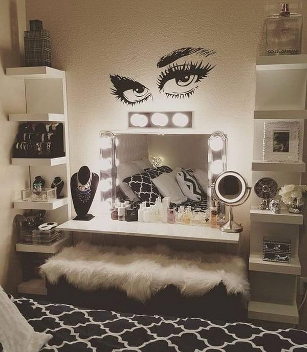 35+ Beautiful Makeup Vanity Ideas.