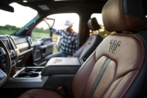 F250 King Ranch Interior