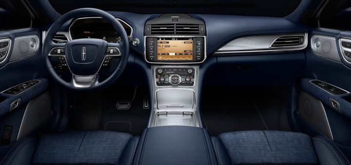 Lincoln Continental Adds Blue Interior Theme Ford Authority