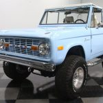 1977 Ford Bronco In Baby Blue Packs A Stroker V8