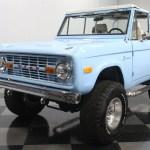 1977 Ford Bronco In Baby Blue Packs A Stroker V8