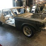 In Progress 1967 Ford Mustang Eleanor Clone Project Is Up For Grabs