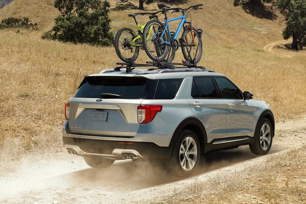 2021 ford explorer outfitters lineup