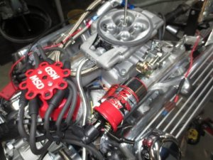 347 Stroker  425 HP Fuel Injected Hot Rod Engine