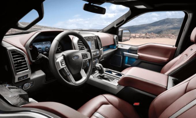Ford 2019 F150 Interior