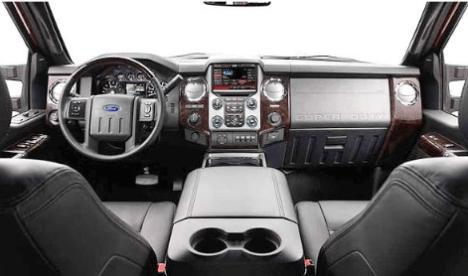 2021 Ford 350 Interior