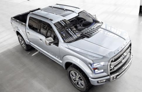 2019 Ford Atlas Exterior
