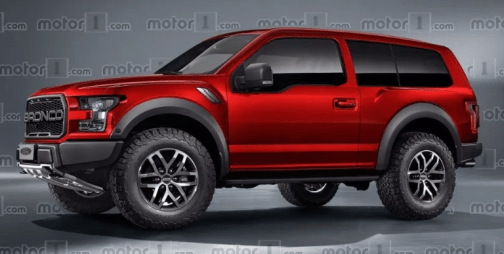 2019 Ford Bronco 4 Door Exterior