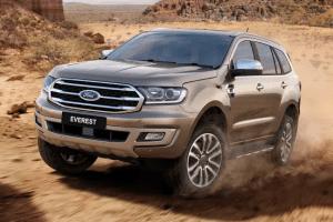 2019 Ford Everest Exterior