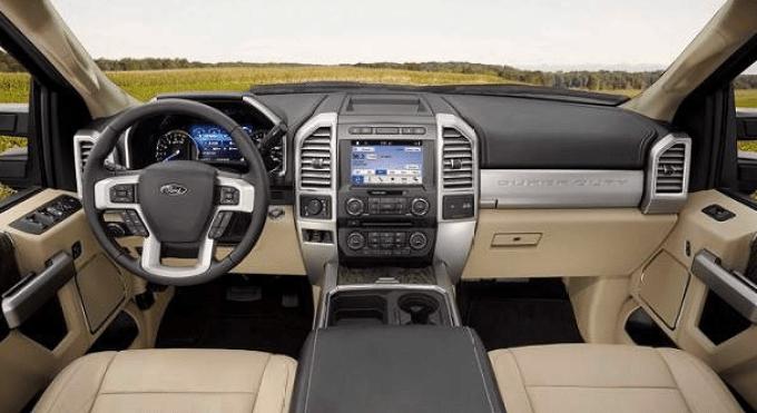 2021 Ford F 250 Interior