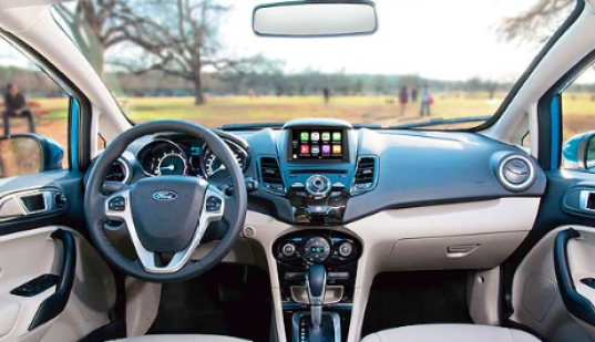 2019 Ford Fiesta Interior