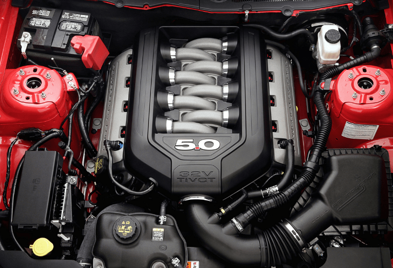 2019 Ford Mustang GT500 Engine