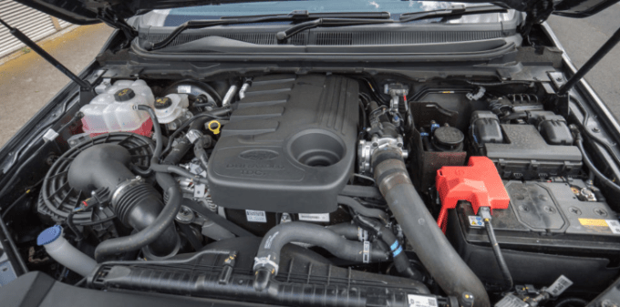 2020 Ford Escape Engine