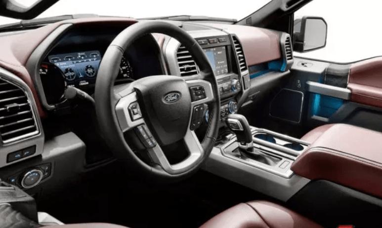 2020 Ford F 150 Interior