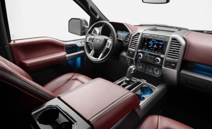2020 Ford F 250 Interior