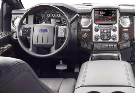 2020 Ford F 350 Interior