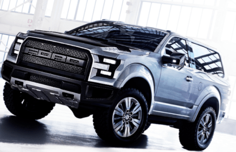 2020 New Ford Bronco Exterior