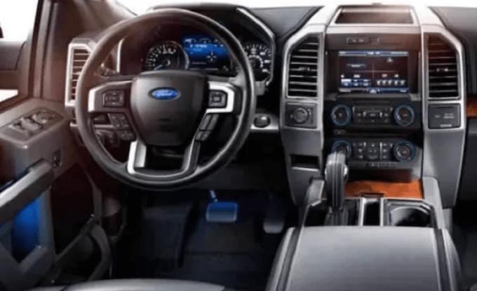 2020 New Ford Bronco Interior